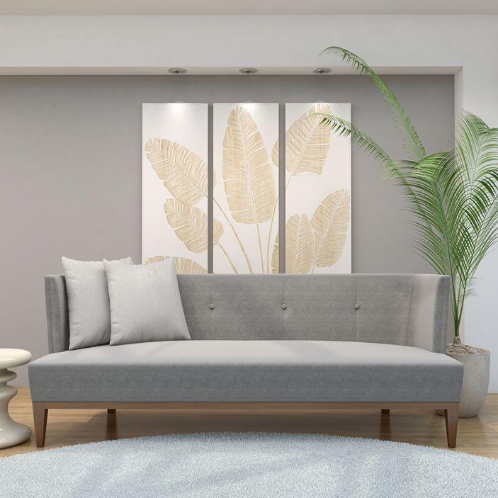 Chloe Contemporary Sofa   Chicago Furniture   The Cape ...