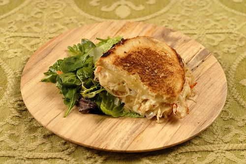 Grilled Cheese with Smoked Jalapeno Kraut