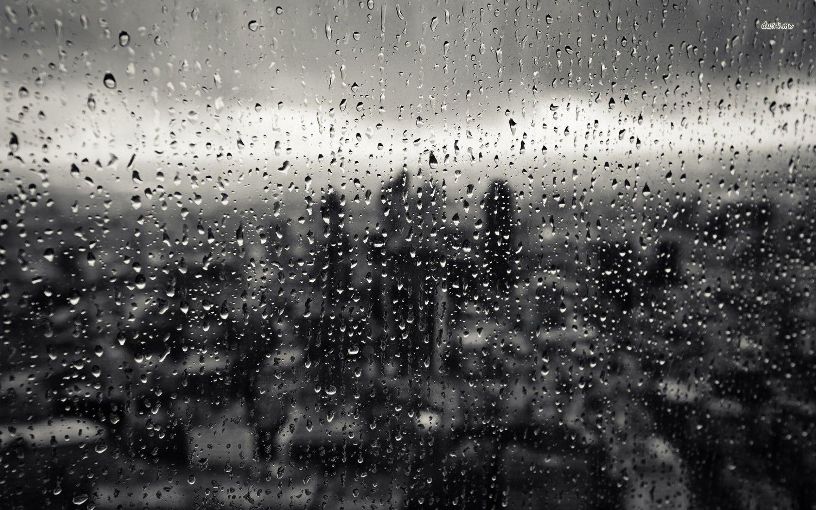 It S Ok To Not Be Ok Rain Window Rain Wallpapers Photography Wallpaper