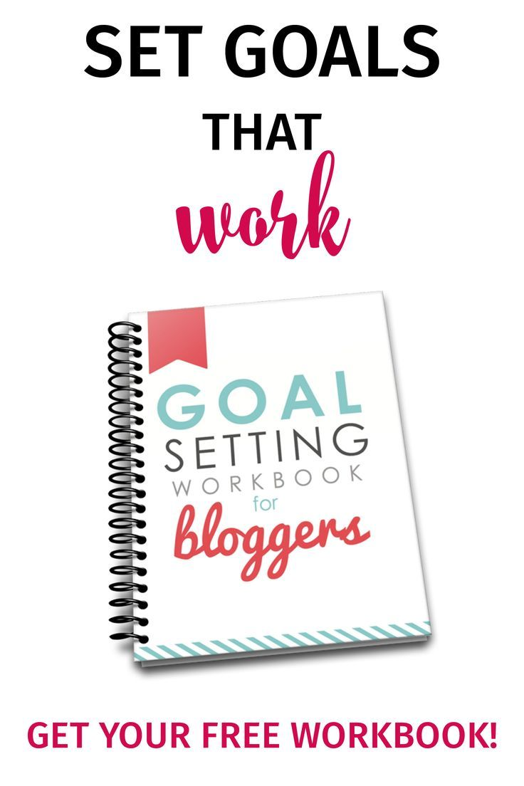 This workbook changed everything—knowing how to set goals that will actually grow my blog is a game changer! (affiliate)