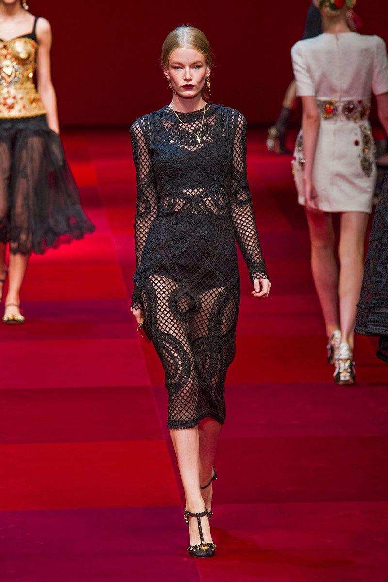 Dolce & Gabbana Spring 2015 Ready-to-Wear - Dolce & Gabbana Ready-to-Wear Collection
