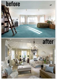Amazing Before and After Master Bedrooms by Candice Olson. Now ...