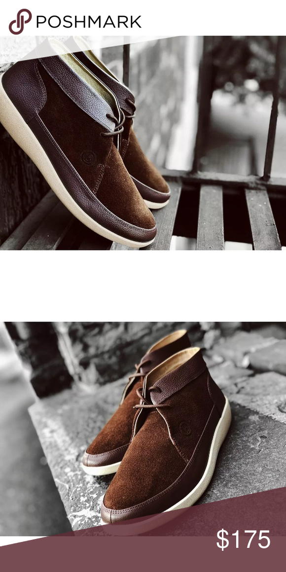 Johnny Famous Bally Style Brown Suede