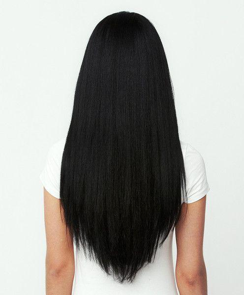 Clip In Hair Extensions Jet Black Color 1 160 Grams In 2020 Hair Color For Black Hair Black Human Hair Extensions Black Hair Extensions
