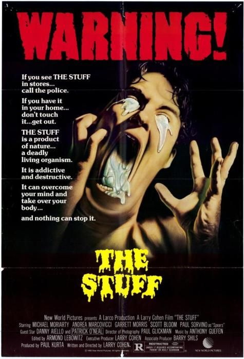 The Stuff movie poster | Love These Posters | Horror movie