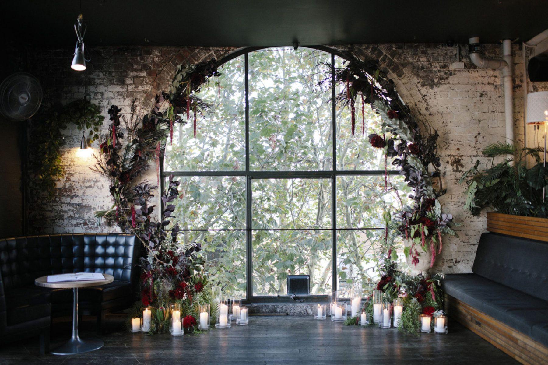 Moody Evening Wedding At Fitzroy's Panama Dining Room  Aisle Beauteous Panama Dining Room Decorating Inspiration