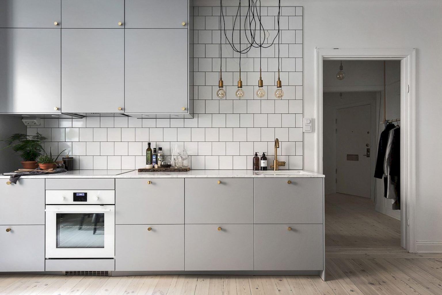 72 Cute Scandinavian Home Decoration Ideas | Scandinavian kitchen ...