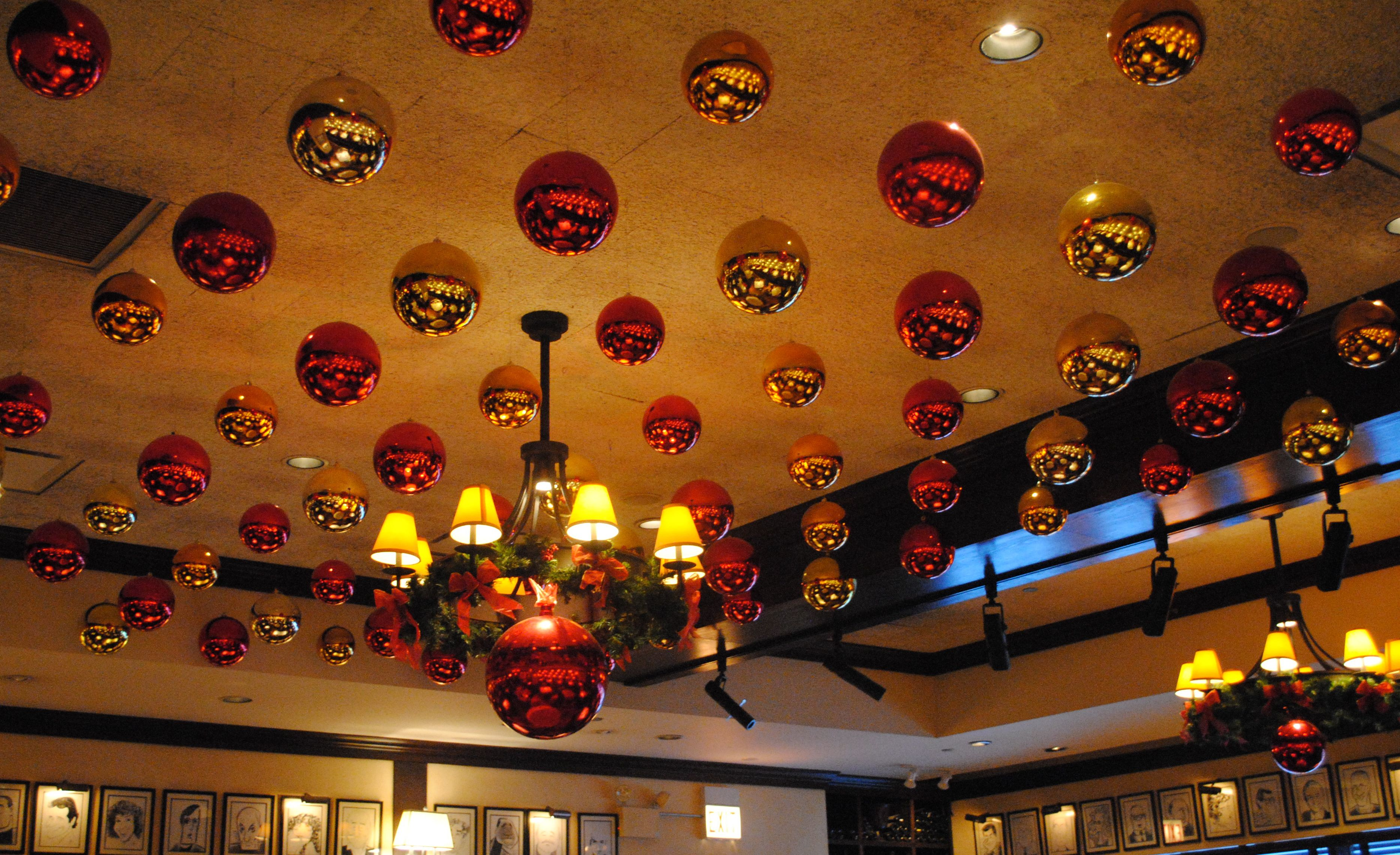 The restaurant and saw all decorations however fun
