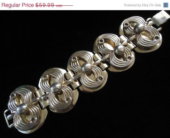 SALE Vintage Retro Collectible Wide Chunky by MartiniMermaid