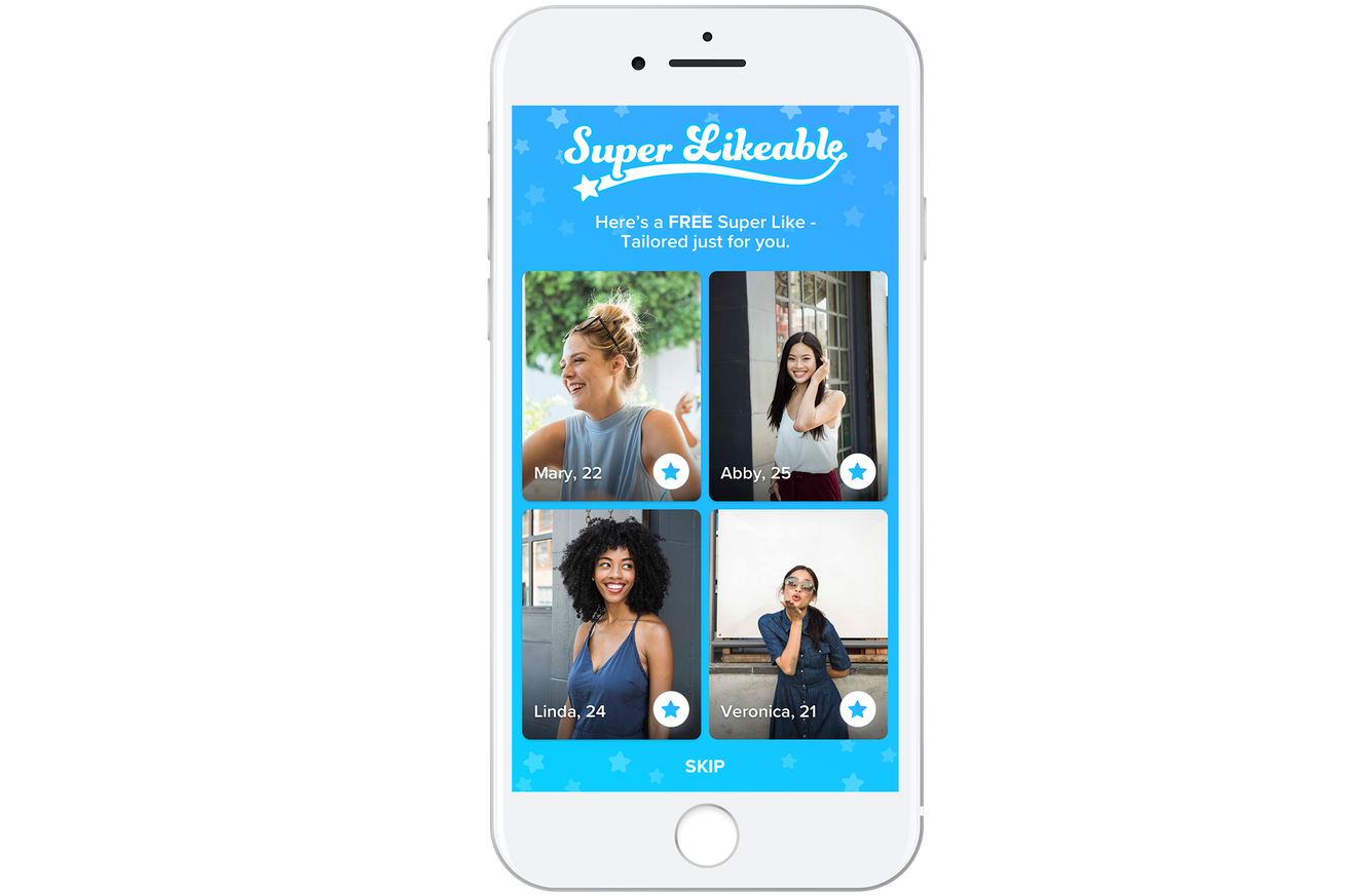 Tinder is now picking people it thinks you should Super