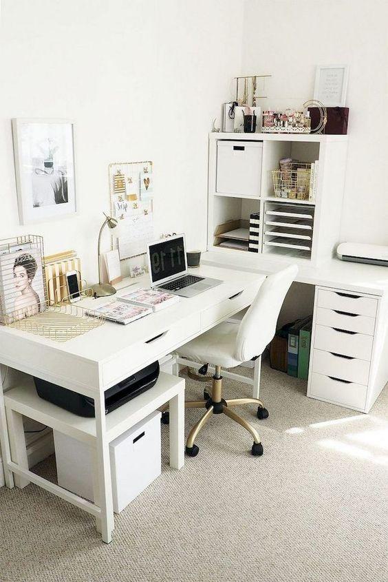 Photo of 18+ inspirierende Ideen für das Home Office #homedecorationideas #ideen #inspir …  Home #homedecordiy – home decor diy