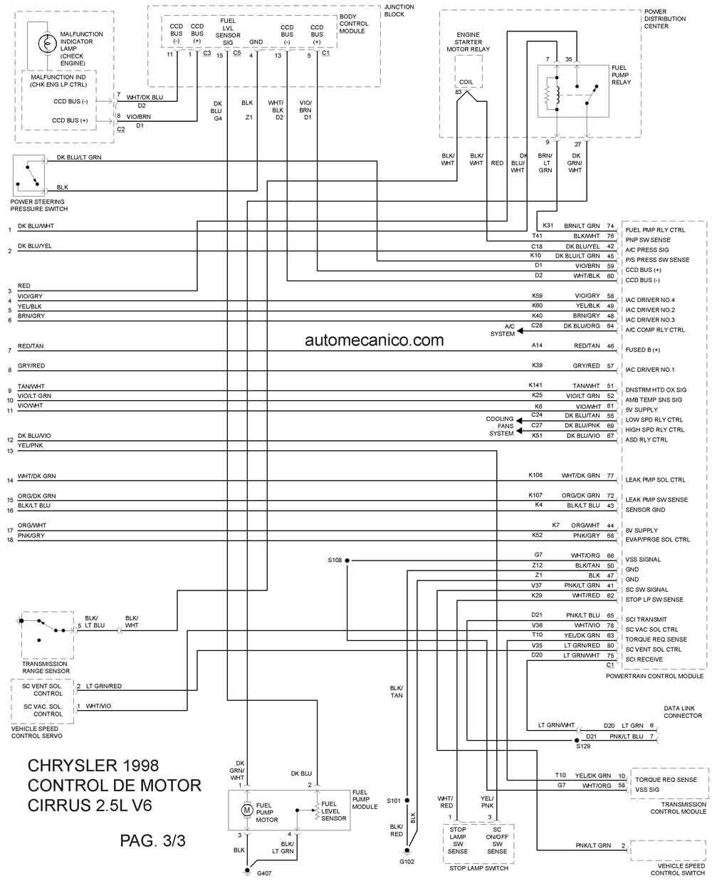 2008 Dodge Avenger Wiring Diagram
