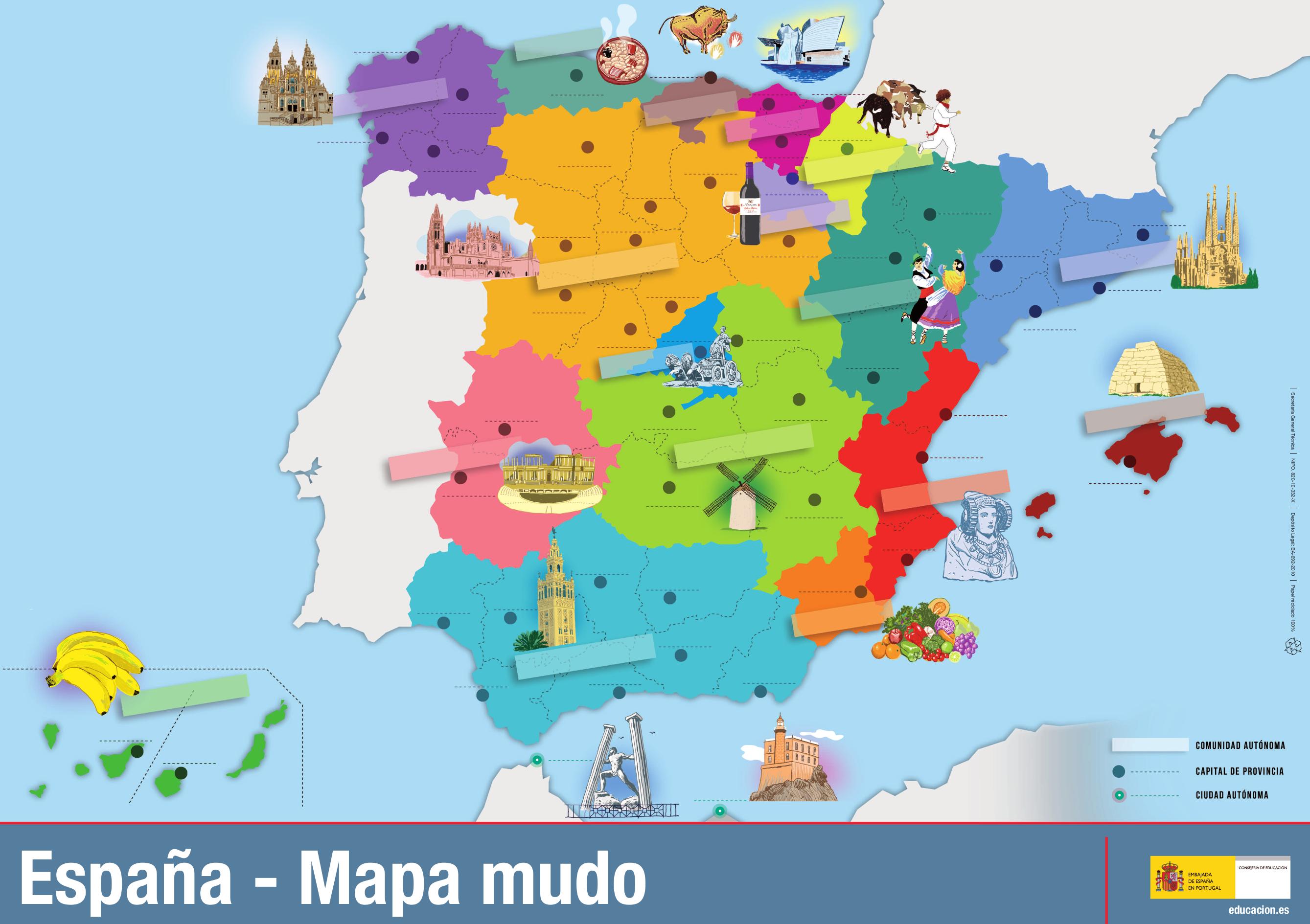 Pin En Geografía E Historia De España