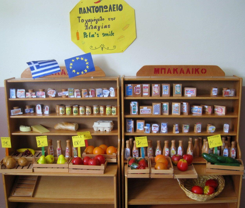 Αγωγή καταναλωτή  Το παντοπωλείο μας Μαθαίνω να χρησιμοποιώ τα ευρώ