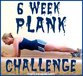 the 6 week plank challenge...do it!