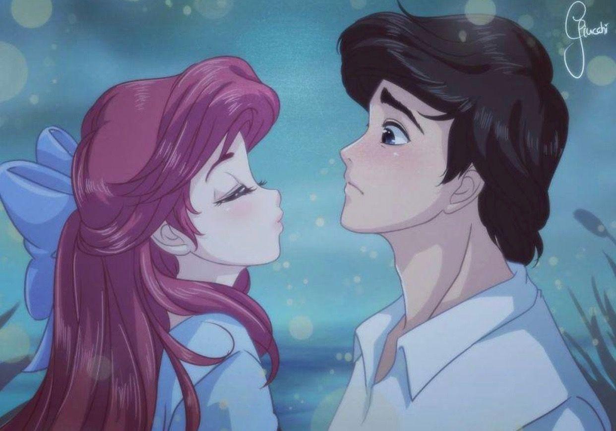 Little mermaid anime disney princess anime cute disney