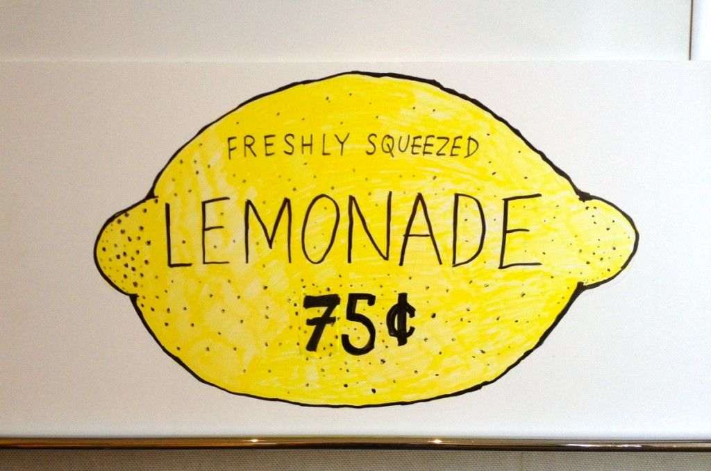 lemonade stand. sign by dad. (With images) | Summer jobs ... Lemonade Sign Kids
