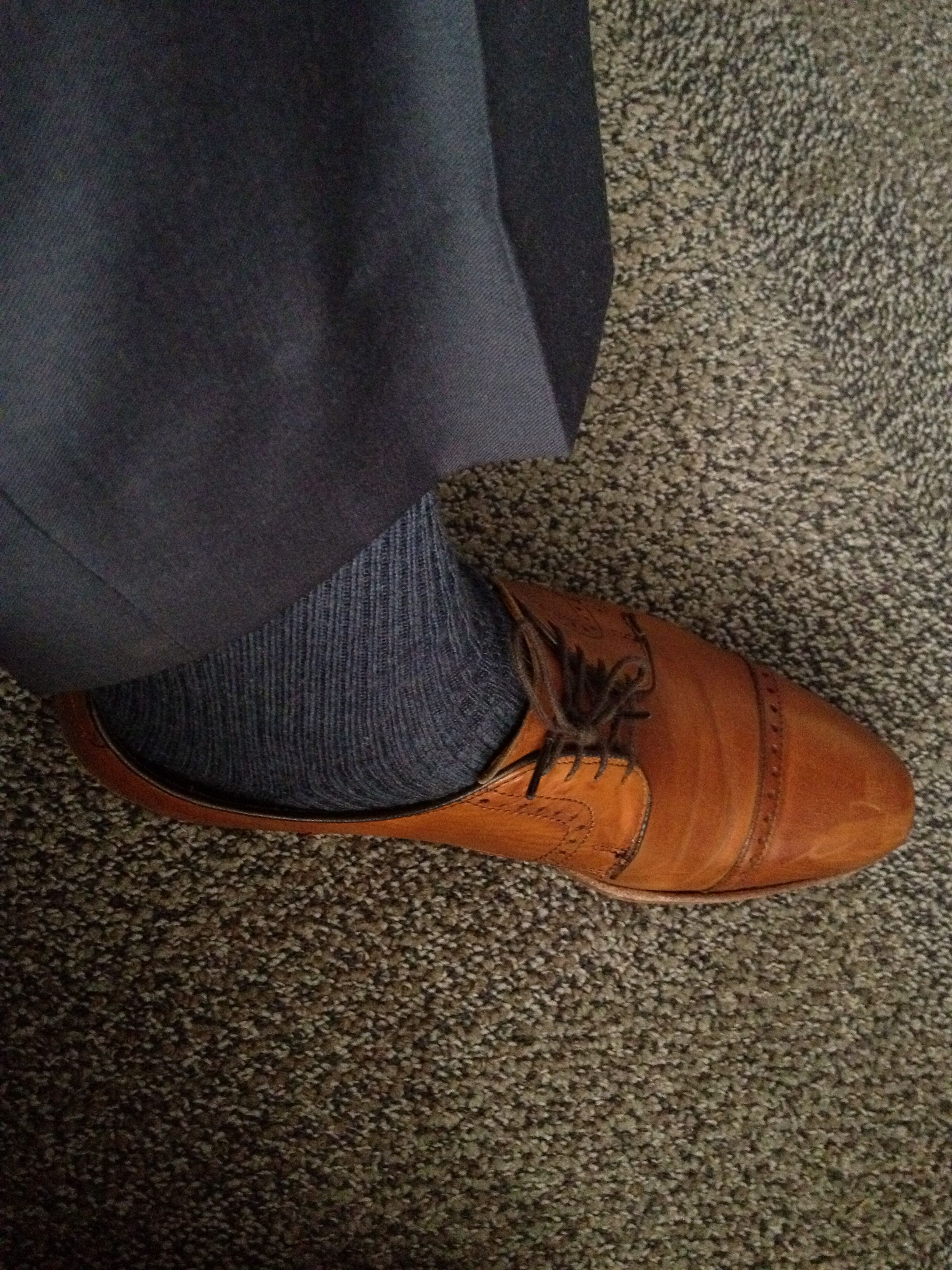 Pictures of boot socks with dress pants