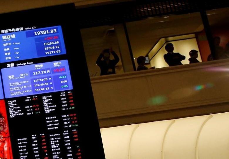 Dolar tergelincir secara luas pada hari Senin setelah Presiden AS Donald Trump menyerang dengan nada proteksionis dalam pidato pelantikannya, offsetting optimisme bahwa ia akan menindaklanjuti janji-janji dari pemotongan pajak dan stimulus lainnya. Nikkei Jepang turun 1,1 persen sementara saham…