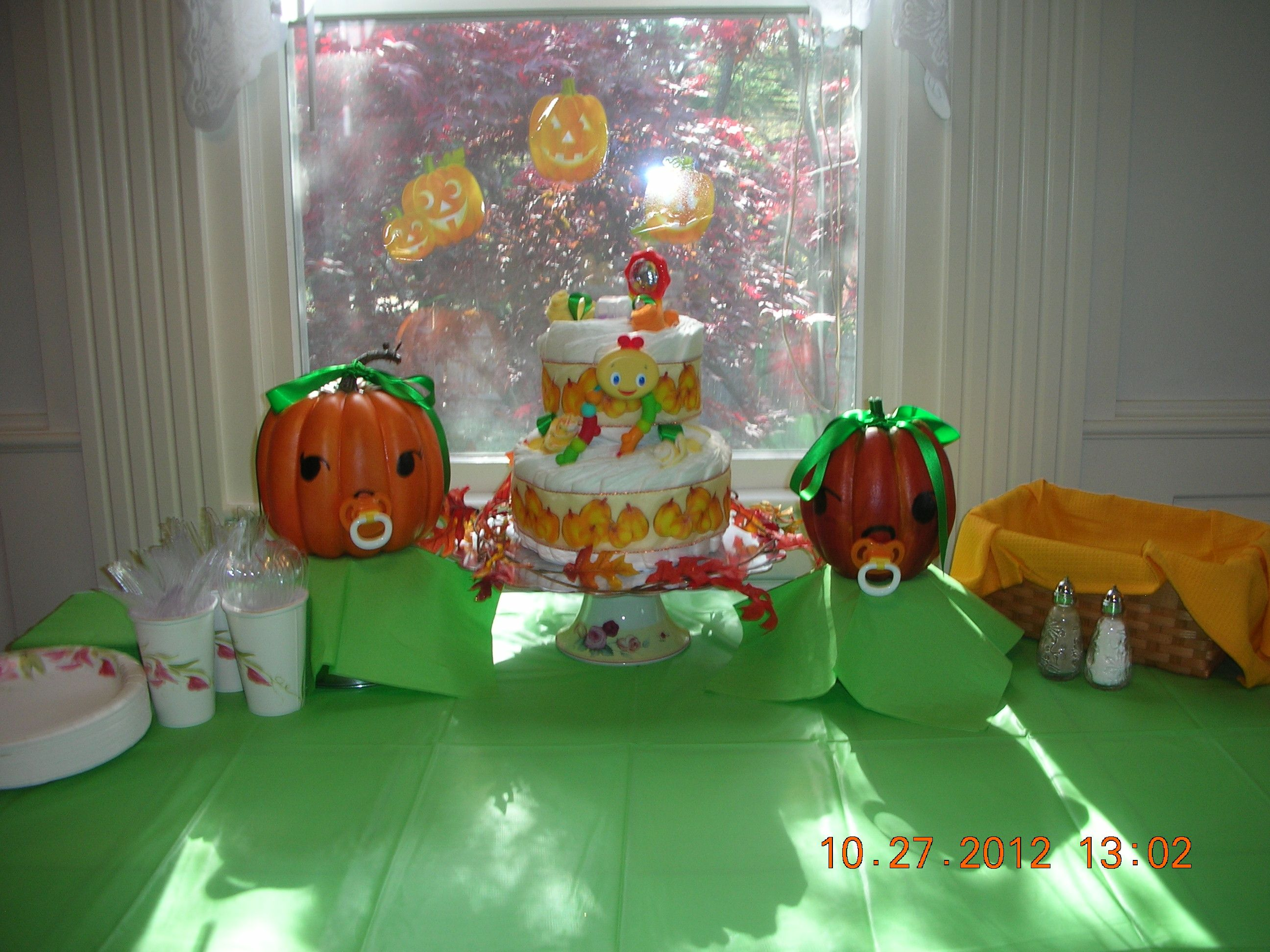 halloween themed baby shower | baby shower ideas | pinterest