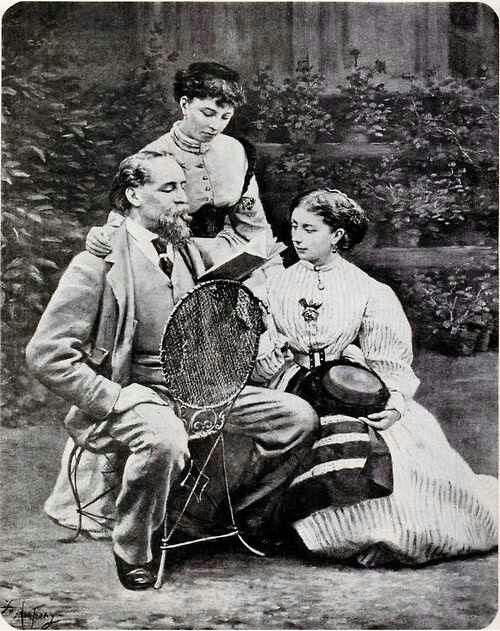 Image result for pictures of charles dickens with his family