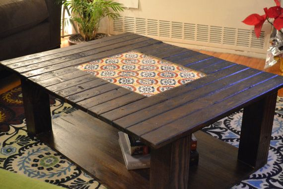 Mexican Tiled Coffee Table Coffee Table Tiled Coffee Table Table