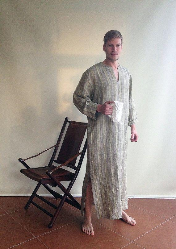 5becc7ab02f Mens Kaftan, Caftan Men, Mens loungewear, Mens robe Plus size mens ...