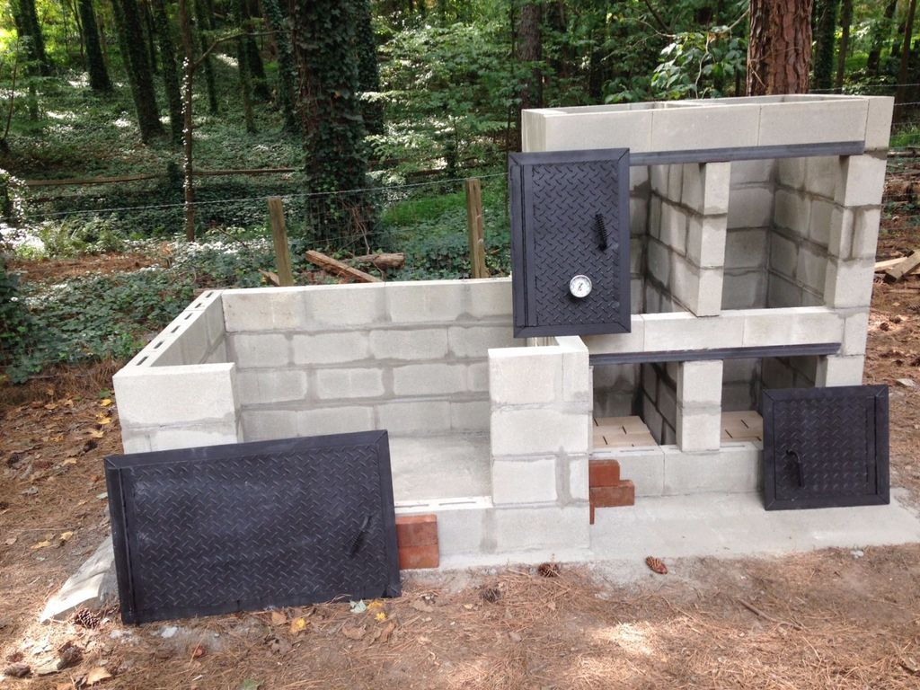 Build Your Own Brick Barbecue This Is The Fourth Barbeque I Have Built