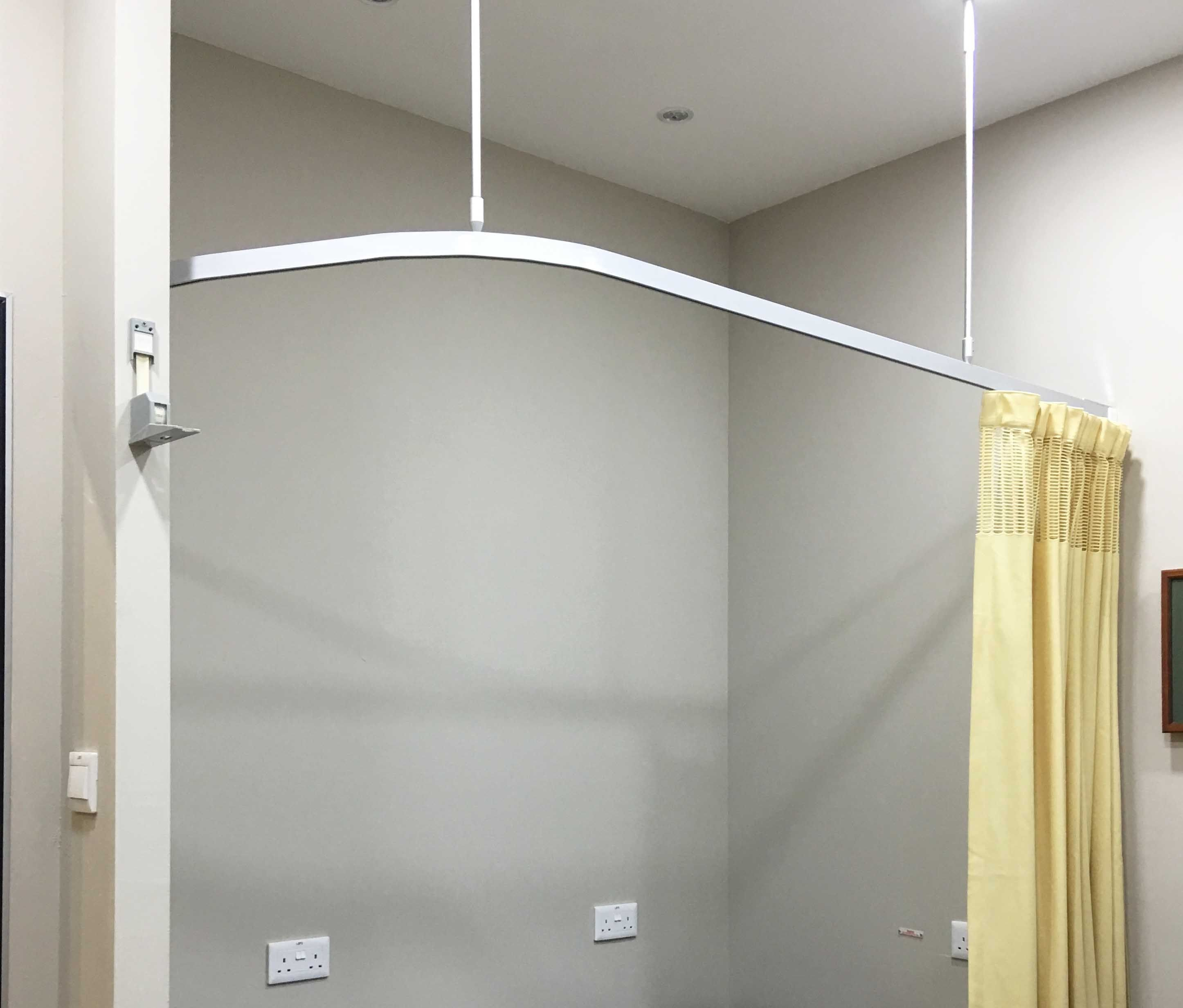 Hospital Curtain Track Systems Di 2020 Hidup
