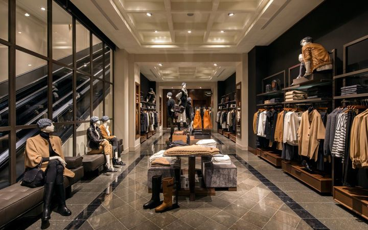 massimo dutti store at fifth avenue, new york | z-专卖店 | retail