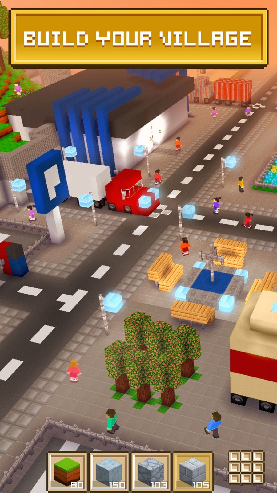 Block Craft 3d City Building Role Free Playing Entertainment Block Craft Building Games City Buildings