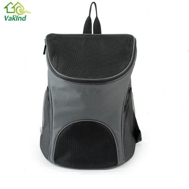 fafc6eb6968 Breathable Pet Puppy Dog Carrier Cat-carrying Mesh Head Backpack for Small  Dogs Pets Travel Shoulder Bag Dog Supplies