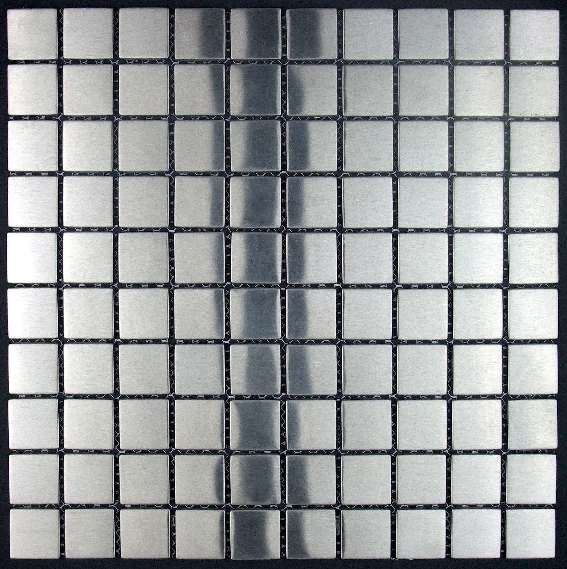Stainless Steel Tiles Kitchen And Bathroom Mi Reg3013 90 Length 11 61 In Width 29 5 Cm Thickness 5 Mm Material Stai Carrelage Inox Inox Carrelage Mural