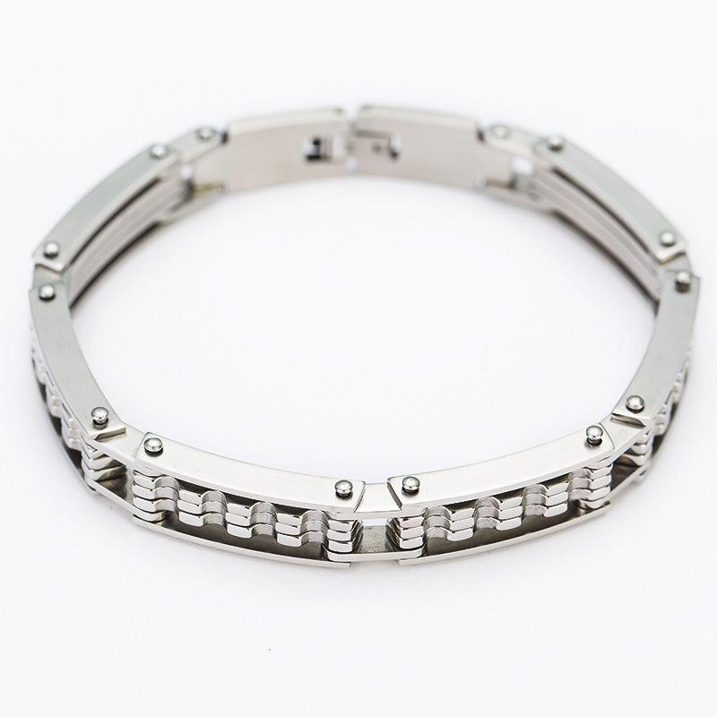 Personality Men Jewelry Bracelet Bracelet High Quality Stainless Steel Punk Style Bracelets For Best Friends Handcuffs Bracelet
