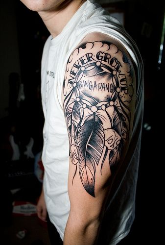 Https Farm5 Staticflickr Com 4030 4597795644 Cc80d6a2da Jpg Peter Pan Tattoo Tattoos Disney Tattoos