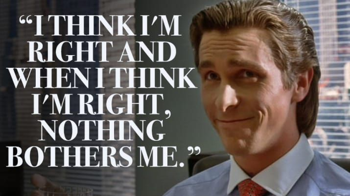 American Psycho Quotes Image Result For American Psycho  De Bohuns And Things That May Be .