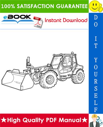 Bobcat V518 VersaHANDLER Service Repair Manual – pdf