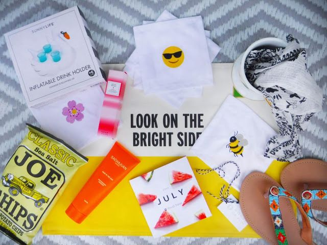 Summer UnBoxing with POPSUGAR Must Have Box   The Yellow Spectacles