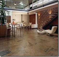 Maintenance of porcelain floor