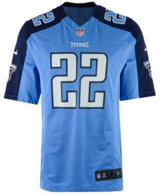 509a2d3d7 Nike Men s Derrick Henry Tennessee Titans Game Jersey - Blue XXL ...