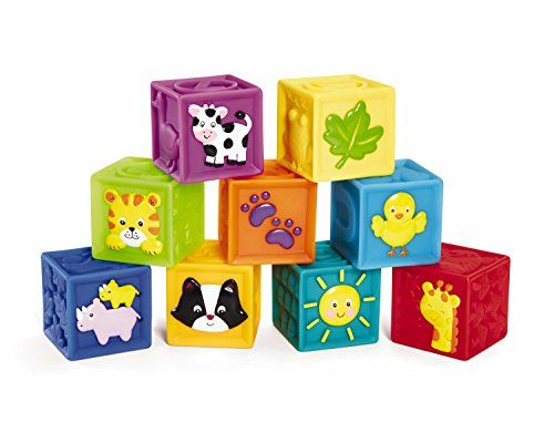 Child Wooden 9 Blocks Six Sides Building Blocks Puzzle Toys Develop Intelligence