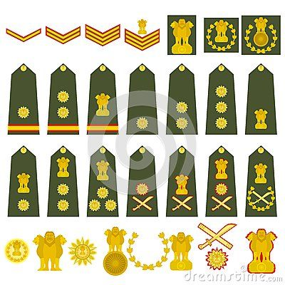 Indian army insignia military ranks vehicles white background photo also best images in badges rh pinterest