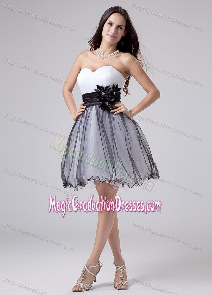 A-line Mini-length Strapless 5th Grade Graduation Dresses in White ...