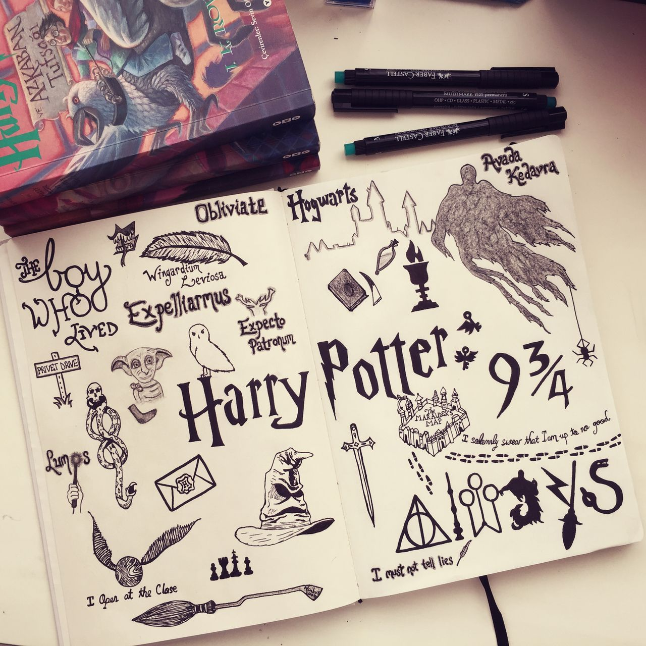 Image Result For Harry Potter Symbols Drawings