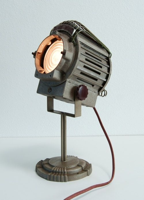 5039s vintage theater stage studio spot light art deco for The lamp light theater