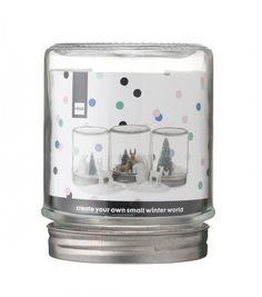 La Seule Boutique Dont Vous Avez Besoin Pour Tous Vos Achats De Noël #bouleaneigemaison Un pot boule à neige DIY Hema à personnaliser pour la décoration de la maison à Noël #bouleaneigemaison