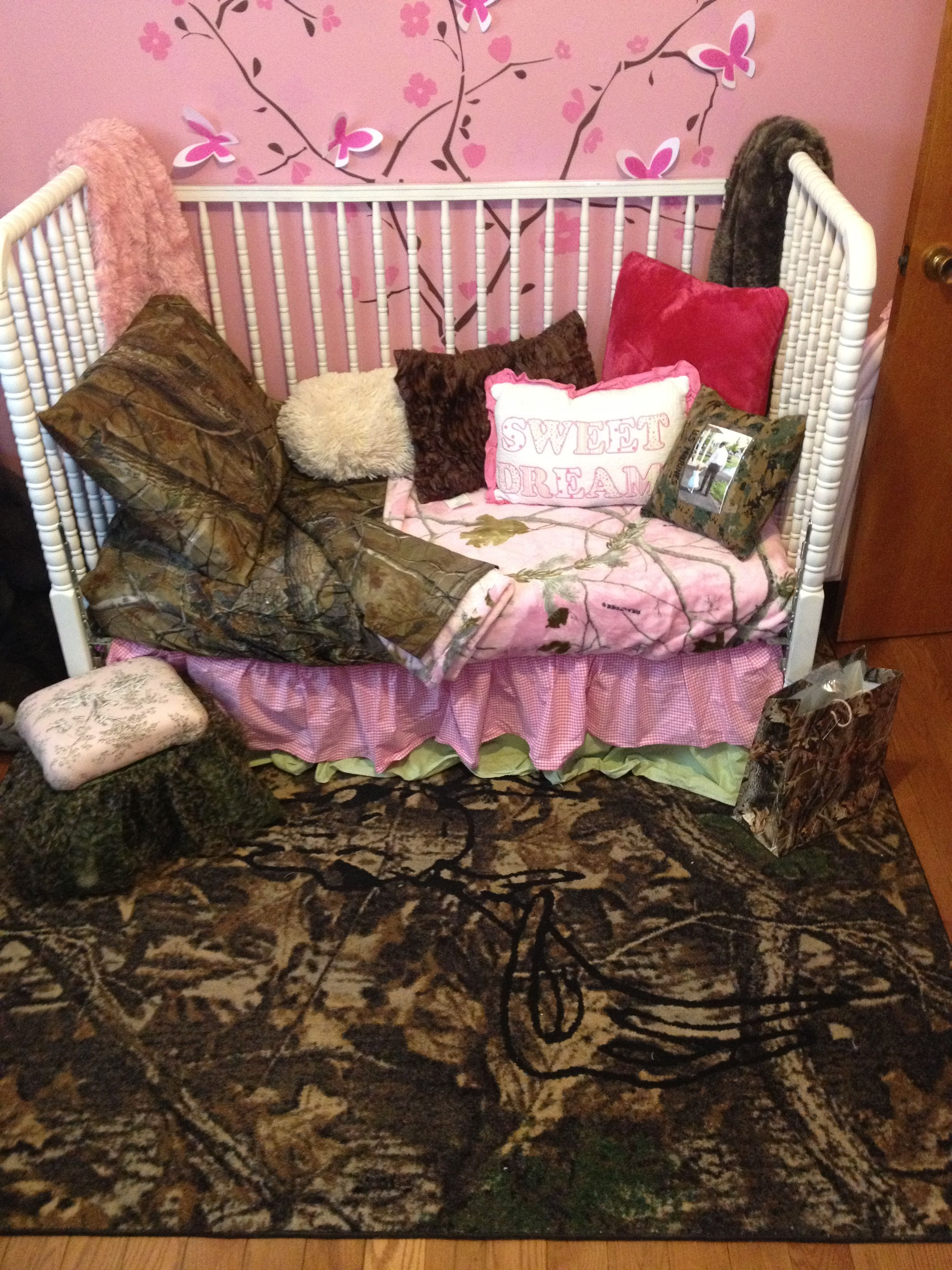girl nursery 39 s girls hunt too cave rug in camo by www. Black Bedroom Furniture Sets. Home Design Ideas