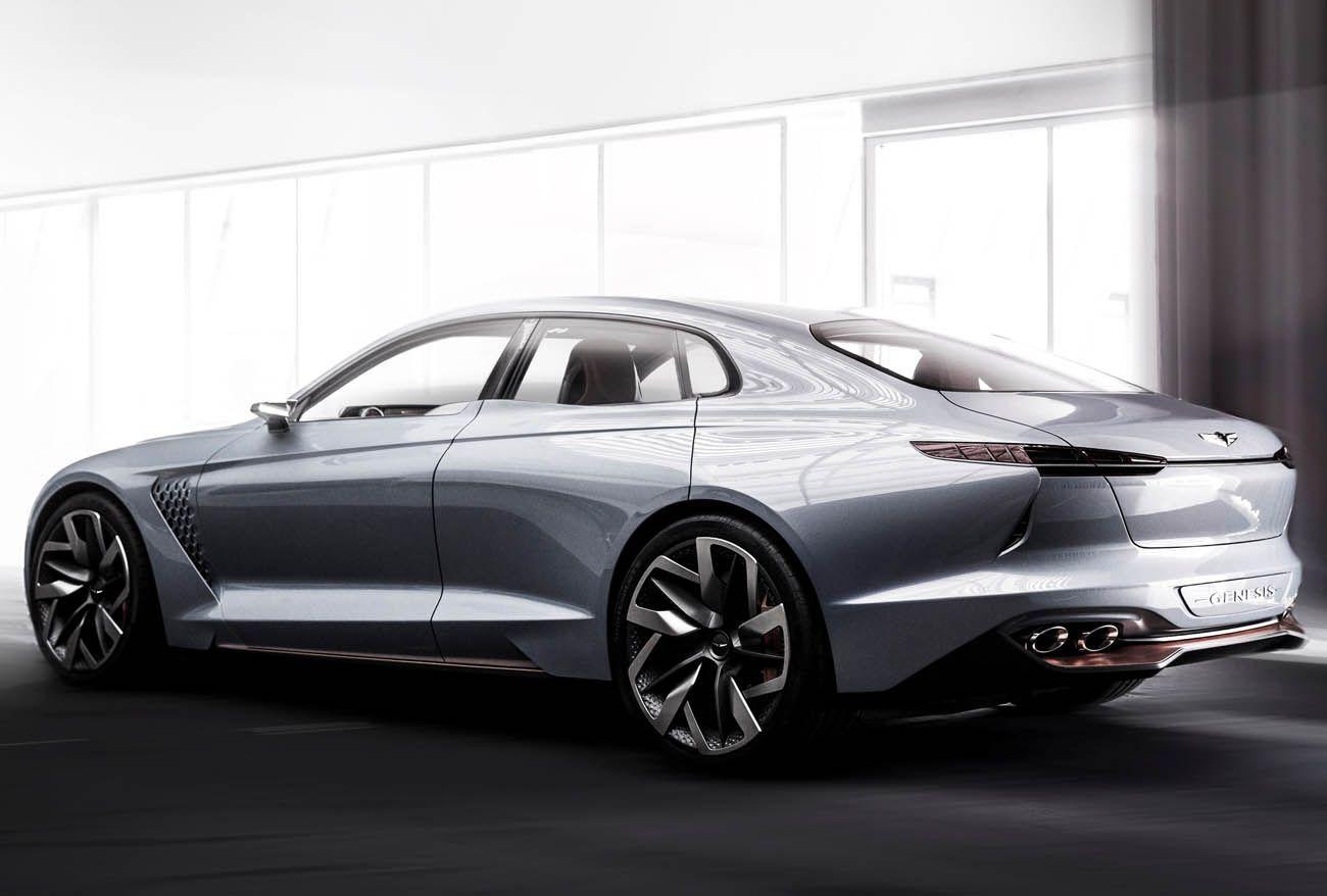 جينيسيس جي 70 نيويورك كونسابت رمز ألاناقة المستقبلية من هيونداي موقع ويلز Concept Cars Hyundai Genesis Hyundai