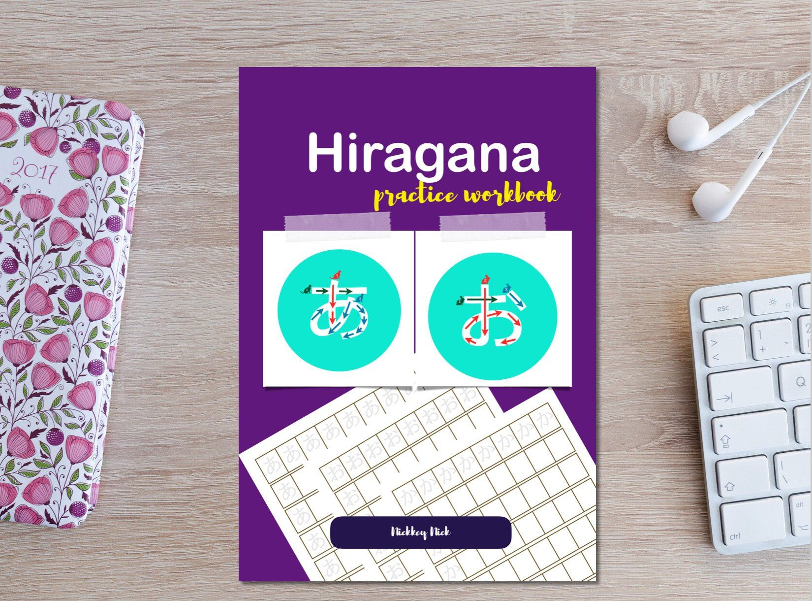 Hiragana Practice Workbook For Beginners With Images