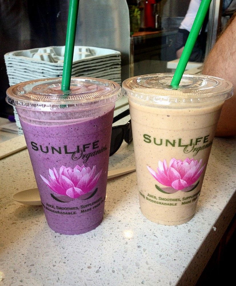 Los Angeles Smoothie: Sunlife Organics In Malibu. The Wolverine Smoothie Is My